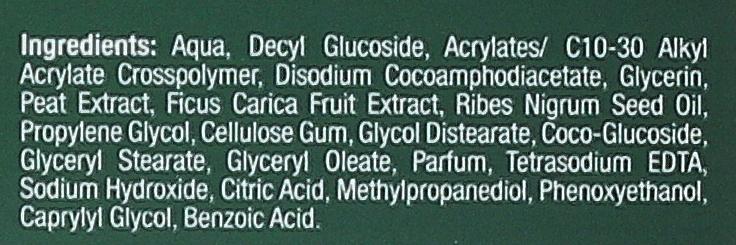 Odżywczy żel micelarny pod prysznic z ekstraktem z figi i czarnej porzeczki - Tołpa Green — фото N3