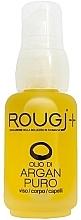 Kup Olej arganowy do twarzy, ciała i włosów - Rougj+ Pure Argan Oil