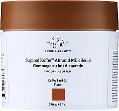 Kup Wygładzający peeling do ciała z mlekiem migdałowym - Drunk Elephant Sugared Koffie Almond Milk Body Scrub
