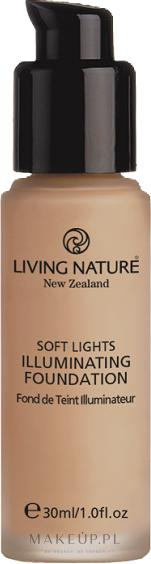 PRZECENA! Rozświetlający podkład do twarzy - Living Nature Soft Lights Illuminating Tint * — фото Dawn Glow