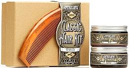 Kup Zestaw - Apothecary 87 Classic Hair Kit (pomade/2x100ml + brush)