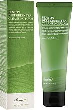 Kup Pianka oczyszczająca do twarzy z ekstraktem z zielonej herbaty - Benton Deep Green Tea Cleansing Foam
