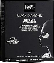 Kup Płatki liftingujące pod oczy - MartiDerm Black Diamond Ionto-Lift Eye Contour