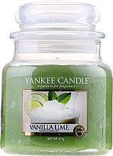 Kup Świeca zapachowa w słoiku - Yankee Candle Vanilla Lime