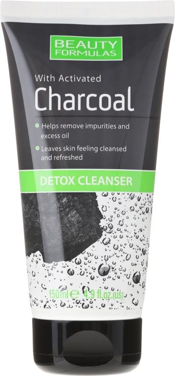 Detoksykujący żel do mycia twarzy z węglem aktywnym - Beauty Formulas Charcoal Detox Cleanser
