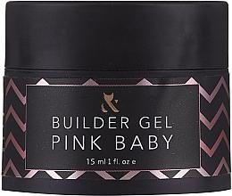 Kup Baza pod manicure hybrydowy - F.O.X Builder Gel Pink Baby