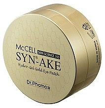 Kup Złote hydrożelowe płatki pod oczy - Dr.Phamor McCell Syn-Ake Hydrogel Gold Eye Patch