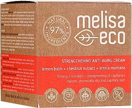 Kup Wzmacniający krem przeciwzmarszczkowy do twarzy - Melisa Eco