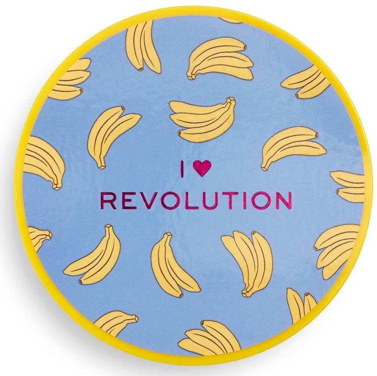 Sypki puder bananowy do twarzy - I Heart Revolution Loose Baking Powder Banana — фото N3