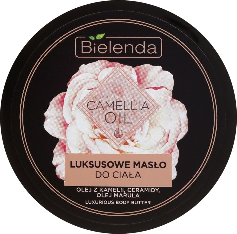 Luksusowe masło do ciała z olejem z kamelii, ceramidami i olejem marula - Bielenda Camellia Oil