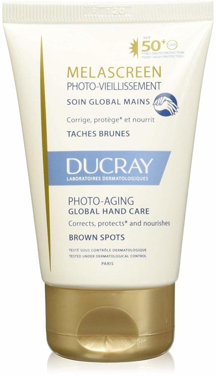 Przeciwpigmentacyjny preparat do skóry rąk - Ducray Melascreen Global Hand Care SPF 50+ — фото N2