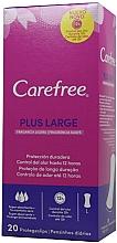 Kup Wkładki higieniczne, 20 szt. - Carefree Plus Large