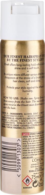 Ekstramocny lakier do włosów - L'Oreal Paris Elnett Satin Extra Strength Hair Spray — фото N2