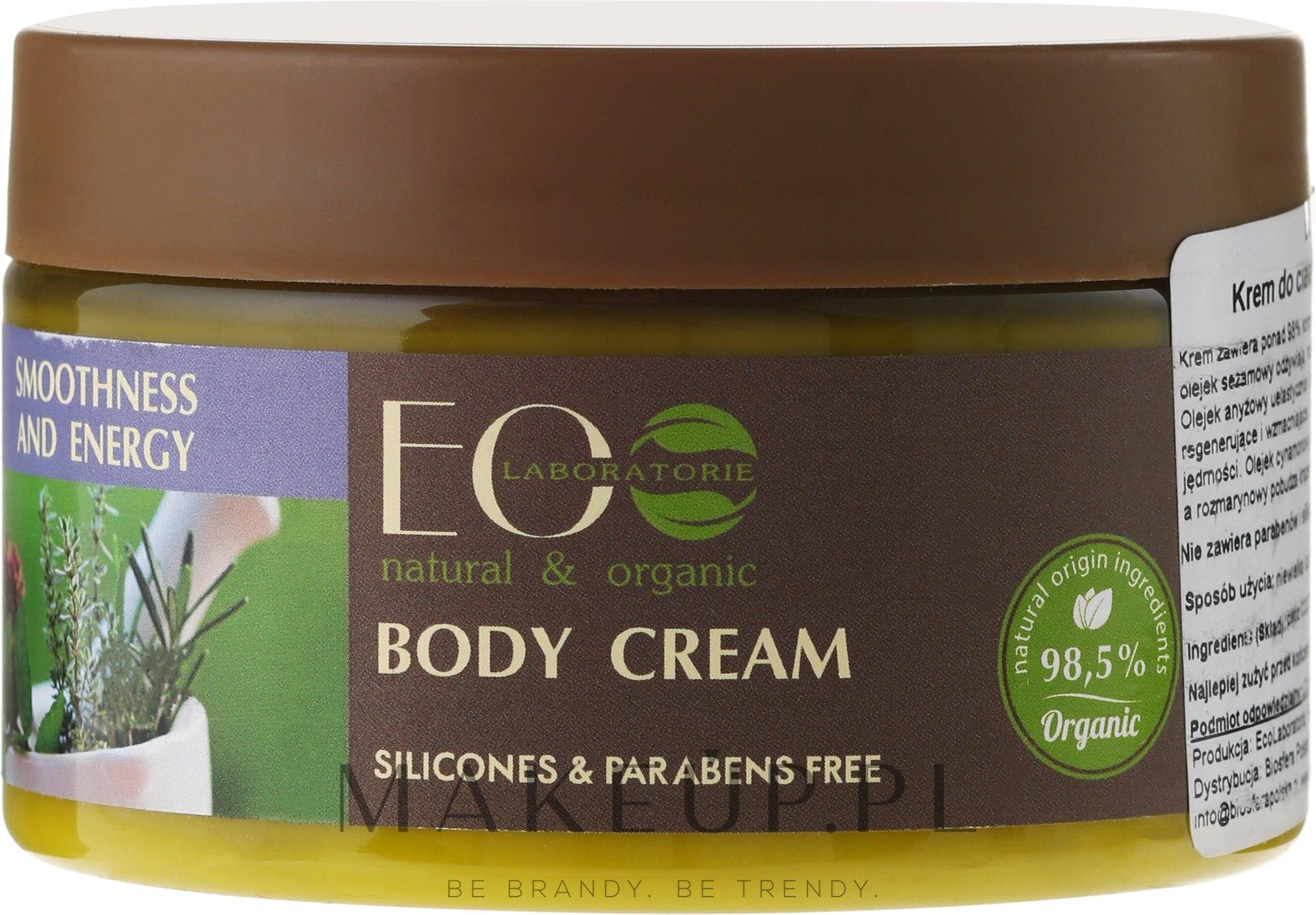 Krem do ciała Gładkość i ton - ECO Laboratorie Smoothness & Tonus Body Cream — фото 250 ml