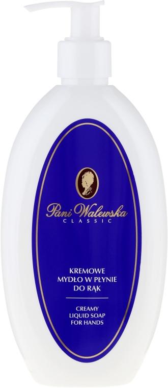 Kremowe mydło w płynie do rąk - Pani Walewska Classic — фото N1