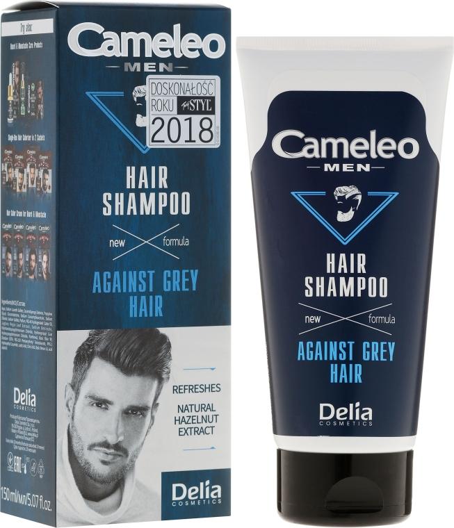 Szampon dla mężczyzn redukujący siwiznę włosów - Delia Cameleo Men