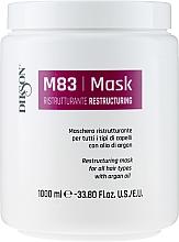Kup Restrukturyzująca maska do włosów z olejem arganowym - Dikson M83 Restructuring Mask With Argan Oil
