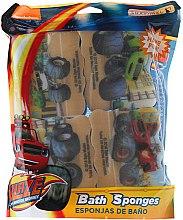 Kup Zestaw gąbek kąpielowych dla dzieci, Blaze i Mega Maszyny - Suavipiel Bath Sponges Blaze And The Monster Machines