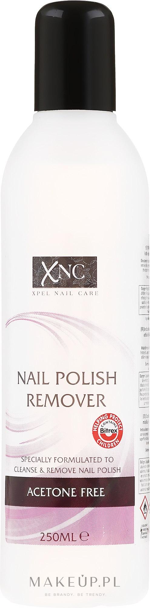 Bezacetonowy zmywacz do paznokci - Xpel Marketing Ltd Xnc Nail Polish Remover Acetone Free — фото 250 ml