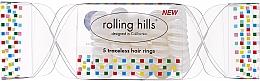 Kup Gumki do włosów, przezroczyste, 5 szt. - Rolling Hills 5 Traceless Hair Rings Cracker