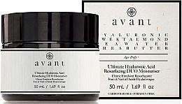 Kup Przeciwstarzeniowy krem regenerujący do twarzy na dzień i na noc - Avant Skincare Ultimate Hyaluronic Acid Resurfacing Duo Moisturiser