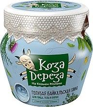 Kup Błękitna bajkalska glinka do twarzy, ciała i włosów - Fitokosmetik Koza Dereza