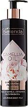 Kup Luksusowe mleczko do ciała z olejem z kamelii, ceramidami i olejem babassu - Bielenda Camellia Oil