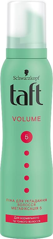 Pianka do włosów Megamocne utrwalenie i objętość - Schwarzkopf Taft Volume