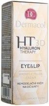 Kup Krem z kwasem hialuronowym modelujący okolice oczu i ust - Dermacol Hyaluron Therapy 3D Eye and Lip Wrinkle Filler Cream