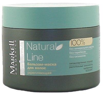 Wzmacniająca maska do włosów - Markell Cosmetics Natural Line  — фото N1