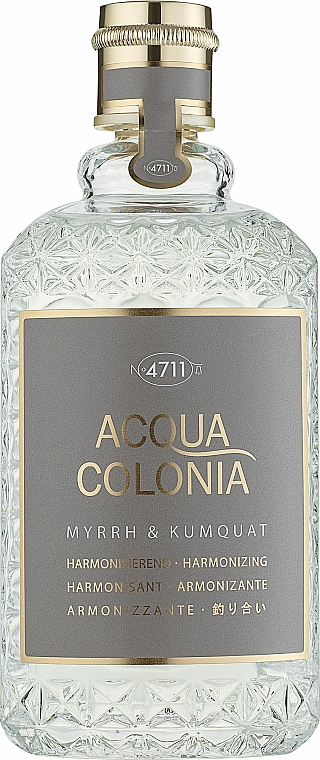 Maurer & Wirtz 4711 Acqua Colonia Myrrh & Kumquat - Woda kolońska