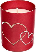 Kup PRZECENA! Czerwona świeca dekoracyjna, 8 x 9,5 cm - Artman Forever Glass *