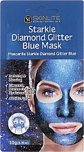 Kup Brokatowa maska peel-off do twarzy - Skinlite Starkle Diamond Glitter Blue Mask