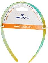 Kup Opaska do włosów, 27901, żółto-zielona - Top Choice