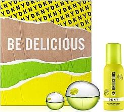 Kup Donna Karan DKNY Be Delicious - Zestaw (edp 100 ml + sh/mousse 100 ml + edp/mini 7 ml)