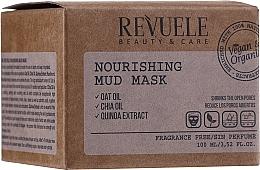 Kup Odżywcza maska do twarzy - Revuele Vegan & Organic Nourishing Mud Mask