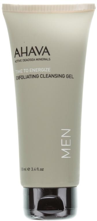 Eksfoliujący żel oczyszczający do twarzy dla mężczyzn - Ahava Men Exfoliating Cleansing Gel — фото N1