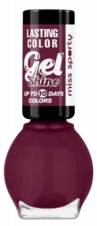 Lakier do paznokci - Miss Sporty Lasting Colour Gel Shine Nail Polish