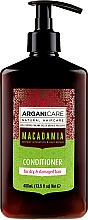 Kup Odżywka do włosów suchych i zniszczonych z olejem makadamia - Arganicare Macadamia Conditioner
