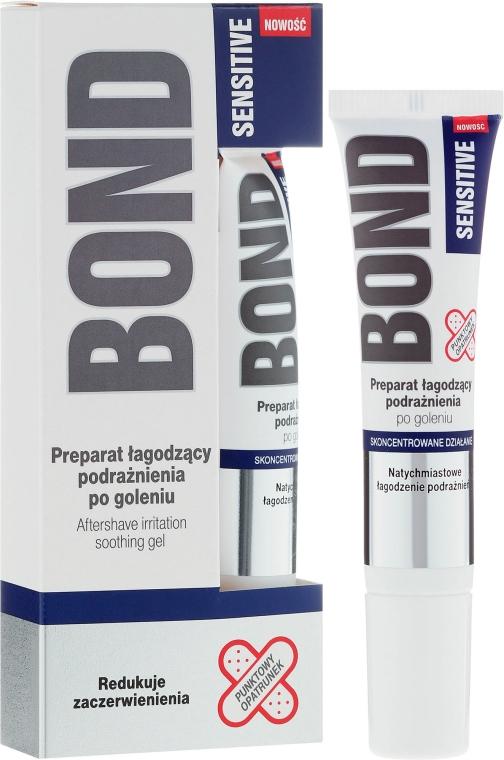 Preparat łagodzący podrażnienia po goleniu - Bond Sensitive Aftershave Irritation Soothing Gel
