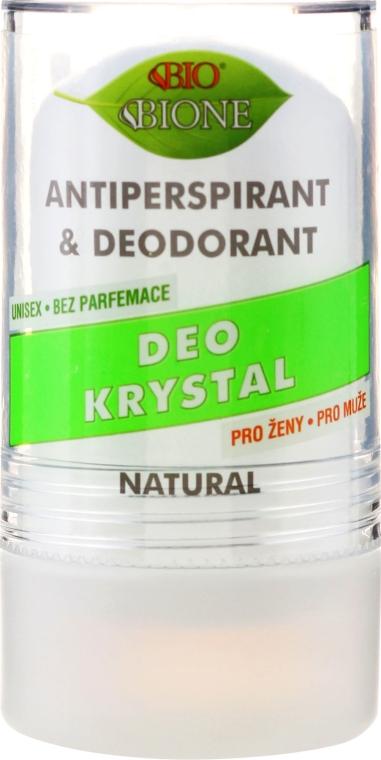 Kryształowy dezodorant-antyperspirant w kulce - Bione Cosmetics Deo Krystal Antiperspirant & Deodorant