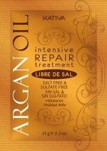 Kup Regenerująca maska do włosów z olejem arganowym - Kativa Argan Oil Intensive Repair Treatment