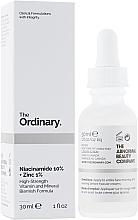 Kup Serum z witaminą B3 i cynkiem - The Ordinary Niacinamide 10% + Zinc PCA 1%