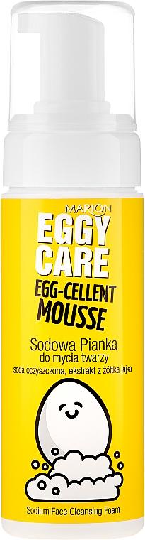 Sodowa pianka do mycia twarzy - Marion Egg-Cellent