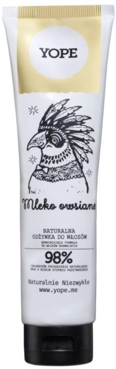 Zestaw do włosów - Yope Mleko owsiane (shm 300 ml + cond 170 ml) — фото N3