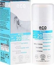 Kup Przeciwsłoneczna emulsja bezzapachowa SPF 20 - Eco Cosmetics Sun Lotion