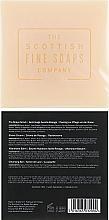 Zestaw - Scottish Fine Soaps Luxurius Giftset Vetiver & Sandalwood (scr/75ml + sh/cr/75ml + ash/balm/75ml + soap/40g) — фото N3