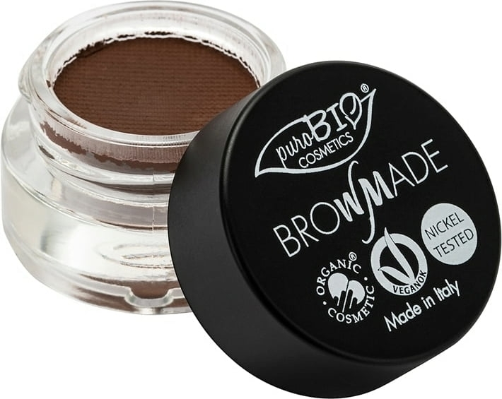 Pomada do brwi - PuroBio Cosmetics BrowMade — фото N1