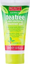 Kup Punktowa kuracja w żelu na pryszcze i inne niedoskonałości twarzy Drzewo herbaciane - Beauty Formulas Tea Tree Skin Clarifying Blemish Gel