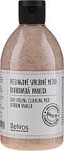 Kup Peelingujące mleczko pod prysznic Wanilia Bourbon - Sefiros Body Peeling Cleansing Milk Bourbon Vanilla